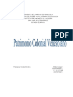 Patrimonio Colonial Venezolano