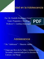 Sexual Id Ad en La Adolescencia Dr. Rodolfo Rodríguez