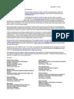 American Studies Association Presidents' Letter (update)