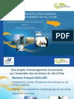 Les Grands projets d'aménagement en Val d'Oise
