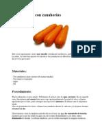 Experimento Con Zanahorias