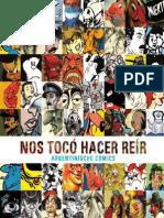 Nos tocó hacer reír - Argentinisches Comics