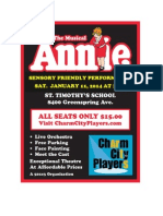 Sensory Friendly Annie