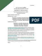 SEPR Test Document