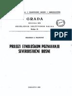 Milenko Filipović - Prilozi etnološkom poznavanju Sjevero-Istočne Bosne