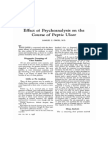 Effect of Psychoanalysis On the peptic ulcer