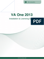 Va One Installation and Licensing Guide