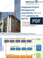 Integrated Project ManagProject_Management_in_SAPement in SAP With Noveco ePM