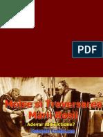 MOISE Si Traversarea Marii Rosii