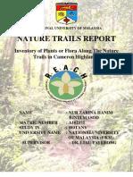 Cameron Highlands Nature Trails Report