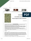 Richard Sennett -Planta ortogonal y ética protestante