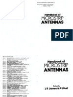 Handbook of microstrip antenna (стр. 276)