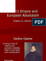 21-1 spains empire and european absolutism