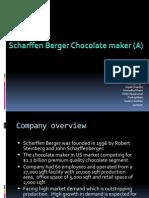 Scharffen Berger Chocolate maker (A)