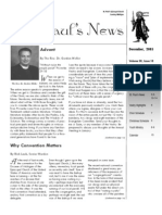 St. Paul's News - December, 2005