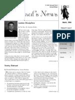 St. Paul's News - March, 2006