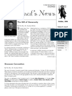 St. Paul's News - October, 2006