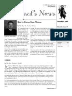St. Paul's News - December, 2006