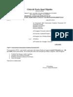 Convocazione Commissione Consiliare Permanente III^ 13 Dicembre 2013