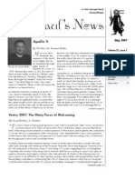 St. Paul's News - May, 2007
