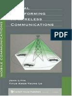 Litva, Lo - Digital Beamforming in Wireless Communications