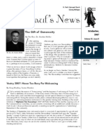 St. Paul's News - October, 2007