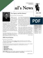 St. Paul's News - March, 2008