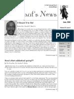 St. Paul's News - June, 2008