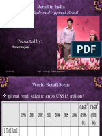 Apparel Retail in India Ppt