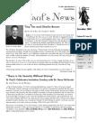 St. Paul's News - December, 2008