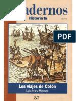 Cuadernos Historia 16, nº 057 - Los Viajes de Colón