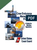 Crew Endurance Management Practices