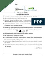 PROVA EDITAL 115_2013 - Tecnólogo em Gestão Pública