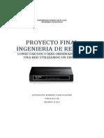 Proyecto Final Ingenieria de Redes i