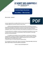 Communiqué de presse - le bilan du Maire 1 (1)