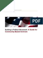 Building a Political Movement
