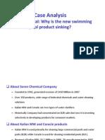 B2B Soren Chemical Case Solution