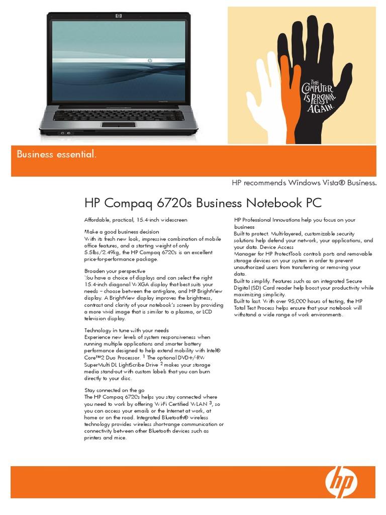 🔥 Driver bluetooth hp compaq 6720s windows 7   HP and