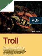 Portrain of Troll