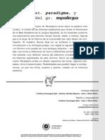Paradigma nº 3 - MITOS I