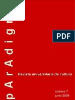 Paradigma nº 7 - EL MIEDO
