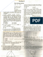 CAT 2011 Previous Year Question Paper