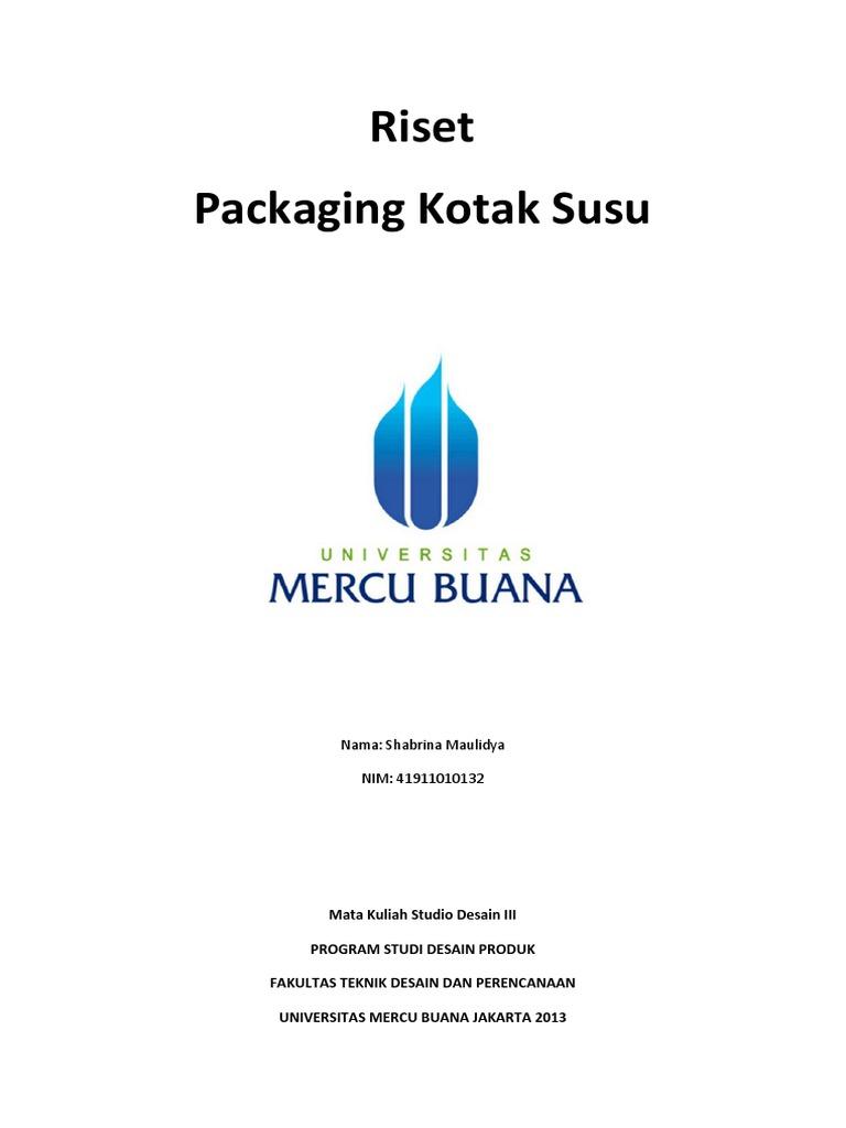 RISET Packaging Kotak Susu UltraMilk