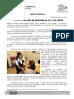 09/12/13 Disminuyen Casos de Influenza en Un 70 Por Ciento