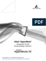 Altair Hyperworks Hypermesh 7 Basic Training Tutorial Day2