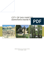 San Marcos Downtown Master Plan