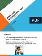 celeste wegner educ 629 technology implementation plan