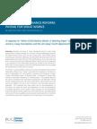 PCG Human Services Child Welfare Finance Reform White Paper