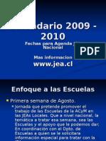 Calendario Nacional y Distrital