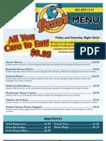 Penns Restaurant Canton43 Menu